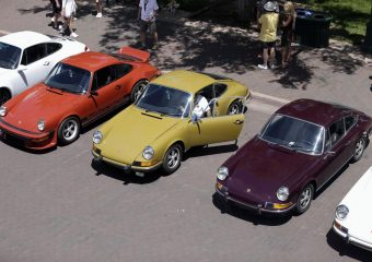 Porsche rally Santa Fe's first major public event since pandemic began